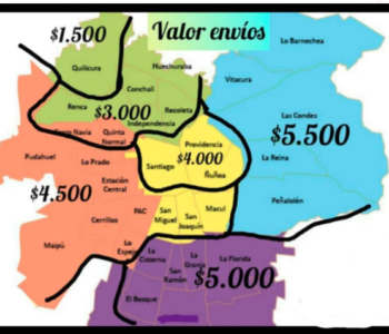 mapa envios